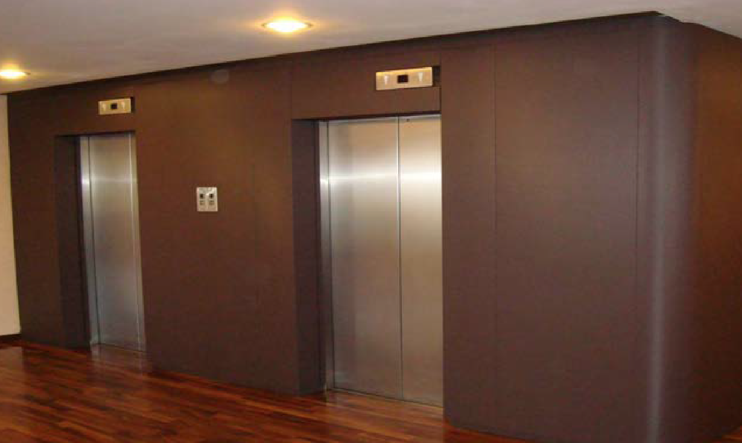 lift elevator refurb film vinyl after